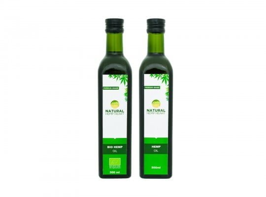 eticheta hemp oil