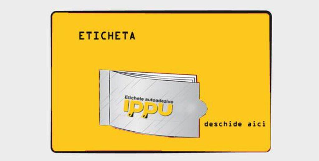Etichete autoadezive in rola - IPPU